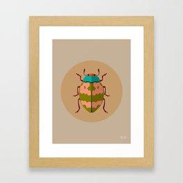 Beetle 01 Framed Art Print