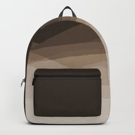 Espresso Brown Ombre Backpack