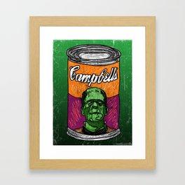 Frankenbeans Framed Art Print