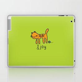 Cute Cat &joy Doodle Drawing Laptop & iPad Skin