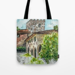 Castle Vineyard Tote Bag