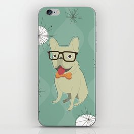 Frank the Frenchie iPhone Skin