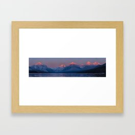 The Alps #society6 #decor #buyart Framed Art Print