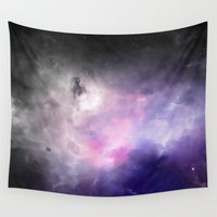 cosmos Wall Tapestries featuring Cosmos by Just Art