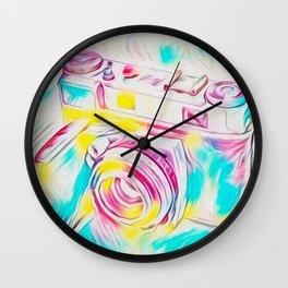 Psychedelic Kodak Wall Clock