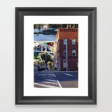 It Used To Be Robinson's Framed Art Print