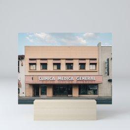 Clinica Medica General Mini Art Print