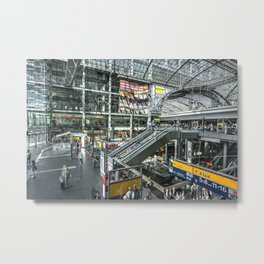 Berlin Hauptbahnhof  Metal Print