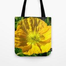 Golden Poppy Tote Bag