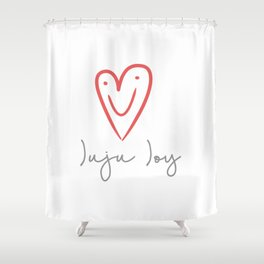 Juju Joy Shower Curtain