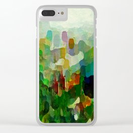 City Park Clear iPhone Case