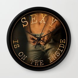 Get Your Sexy On - by JA Huss Wall Clock