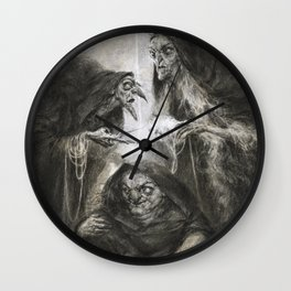 The Moirai Wall Clock