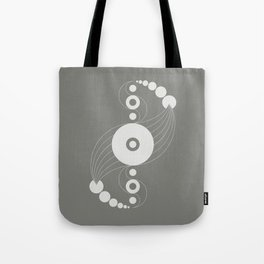 dna aliens, sacred geometry Tote Bag