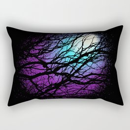 lights in the forest Rectangular Pillow
