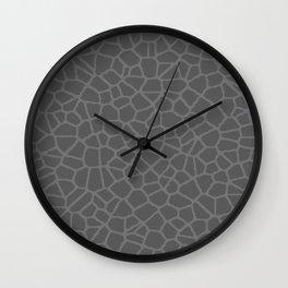 Staklo (Gray on Gray) Wall Clock