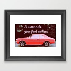 I just wanna be yours Framed Art Print