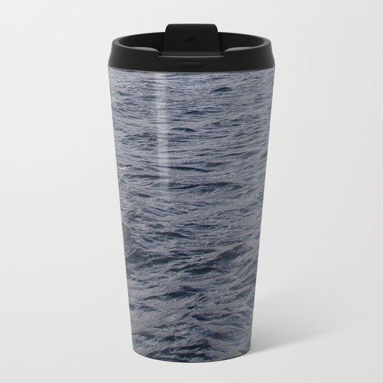 Wild waves in Loch Ness Metal Travel Mug