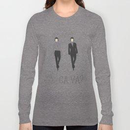 I love Paris. Do you? Long Sleeve T-shirt