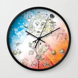 Lionflower Wall Clock