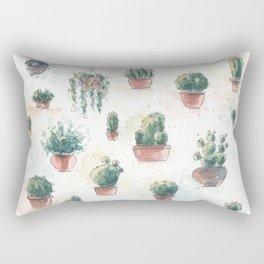 Cacti nd succulents Rectangular Pillow