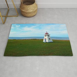 Tiny Lighthouse and Giant Bridge Rug