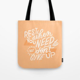 rest when you need to Tote Bag