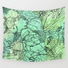 Insects Wall Tapestry