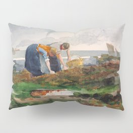 The Mussel Gatherers - Digital Remastered Edition Pillow Sham