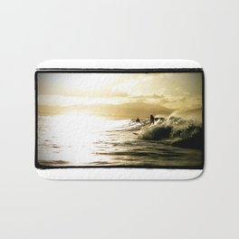 Surf Sunset Bath Mat