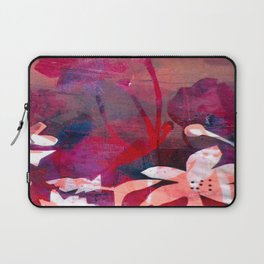 Poppy Pink Love Laptop Sleeve