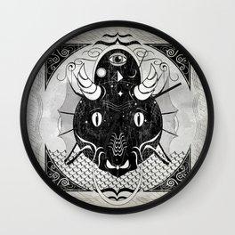 Luck Dragon Wall Clock
