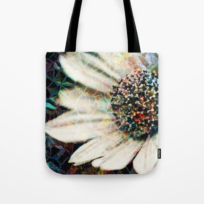 Floral Mosaic Tote Bag