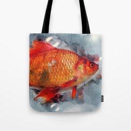Goldfish Fancy Tote Bag