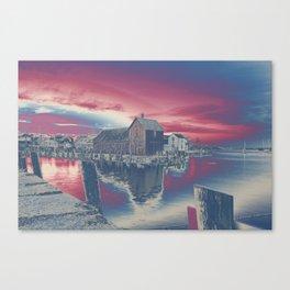 Motif #1 color explosion Canvas Print