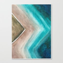 Ocean's Edge  Canvas Print
