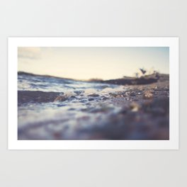 By the seaside Art Print