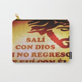 Sali con Dios Carry-All Pouch