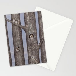 owls in trees Stationery Cards