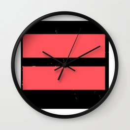 Infra red lgbt gay ma Wall Clock