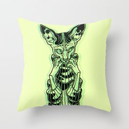 Stay Home Today Throw Pillow