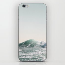 Waves and Sunrise Happy Summer Photography Ocean Beach Vibes Tropical Water Sea iPhone Skin