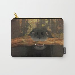 Playful Labrador Carry-All Pouch