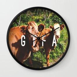 GTFA Wall Clock