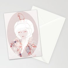 Portrait with Chick Stationery Cards