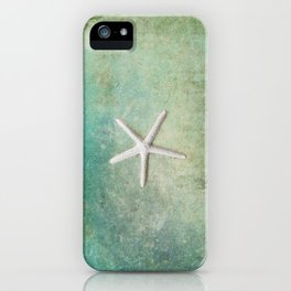 single starfish iPhone Case