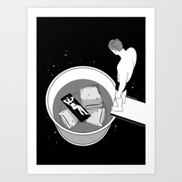 Dive into you Art Print