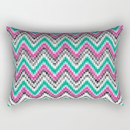 Bargello Rectangular Pillow