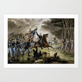 Battle of Chantilly - Civil War Art Print