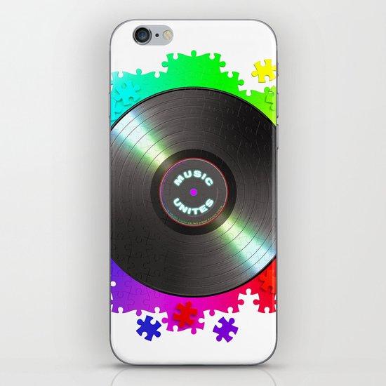 music_unites ! iPhone & iPod Skin